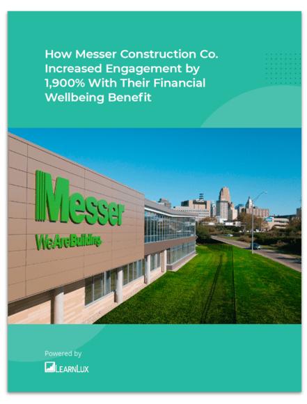 Messer Financial Wellbeing Case Study