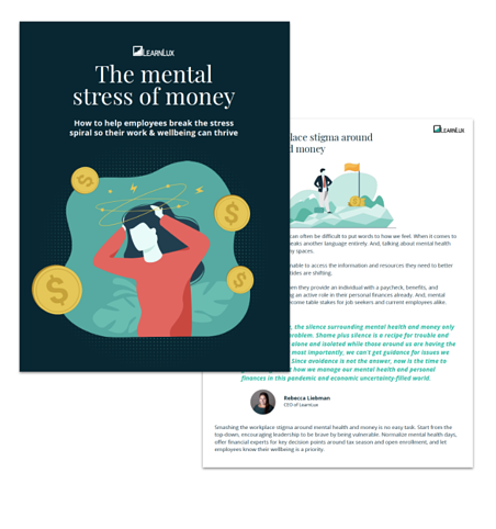 mental health and financial wellbeing ebook