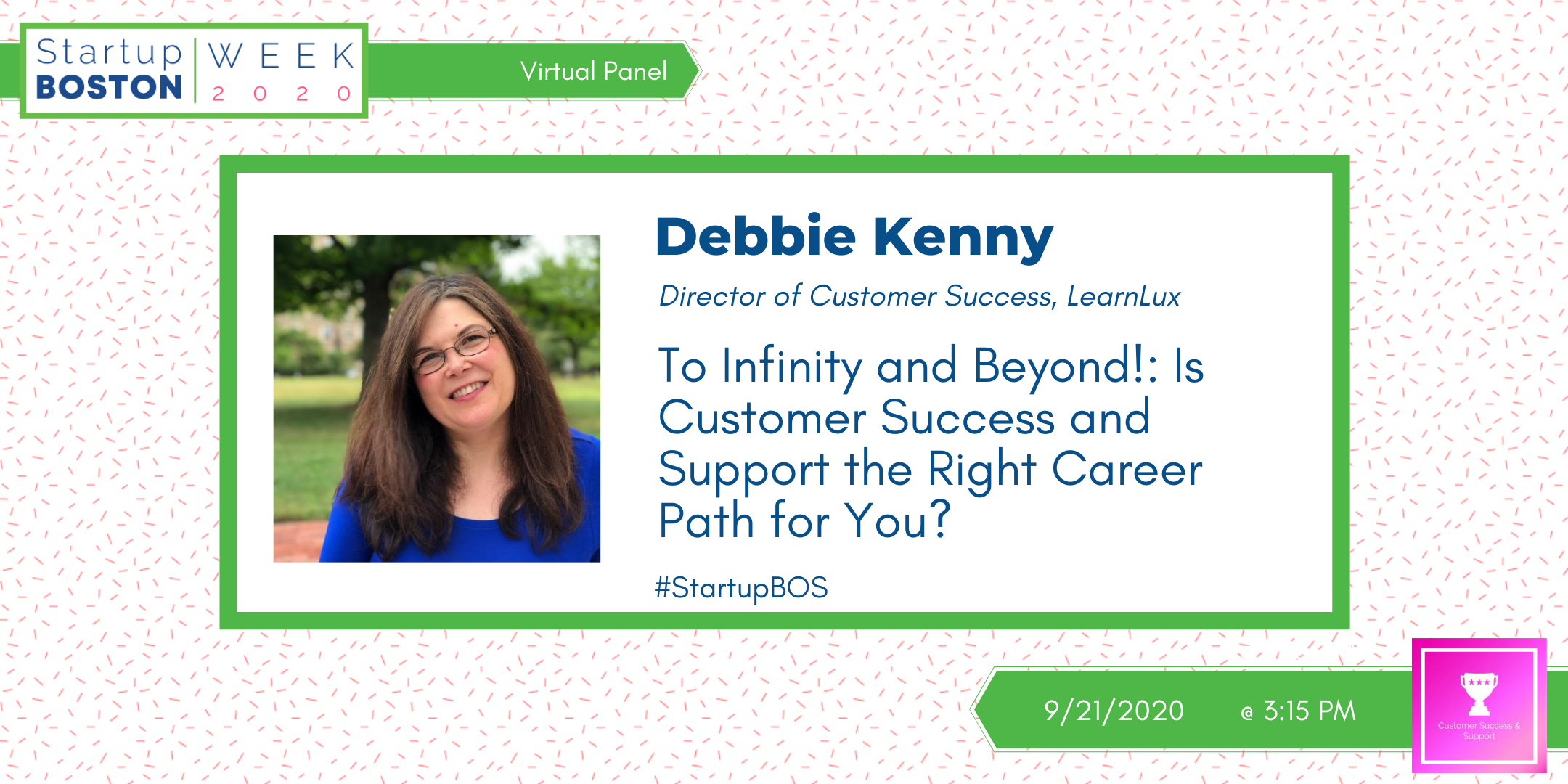 Debbie Kenny, Director of Customer Success at LearnLux Financial Wellbeing Company