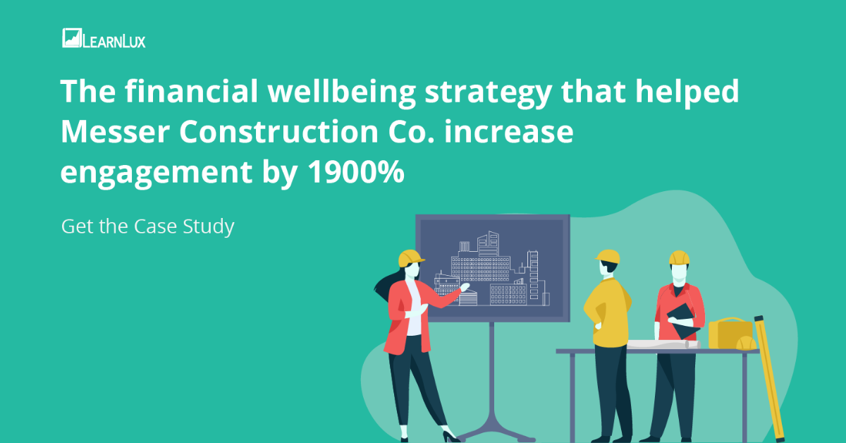 The financial wellbeing strategy that helped Messer increase engagement by 1900 percent