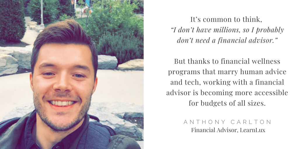 anthony carlton learnlux financial advisor money quote