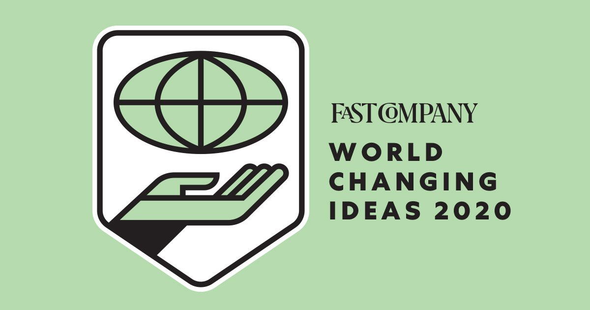 LearnLux Fast Company World Changing Ideas Award 2020